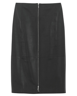 MUGLER PARIS Jupe Black Leather