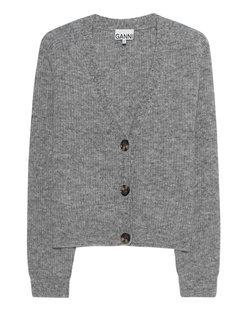 Ganni Woolen Crop Grey