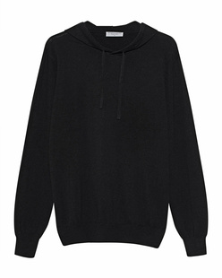 Majestic Filatures  Fine Knit Hood Black