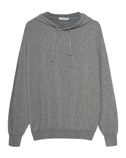 Majestic Filatures  Fine Knit Hood Grey