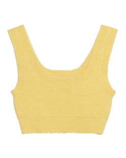 Heron Preston for Calvin Klein Recycled Alpaca Custard Yellow