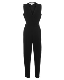 JONATHAN SIMKHAI Crepe Cut Out Black