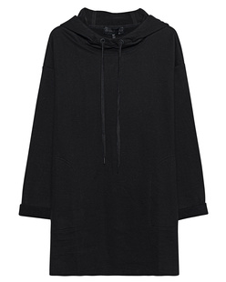 Kendall + Kylie Cotton Hood Black