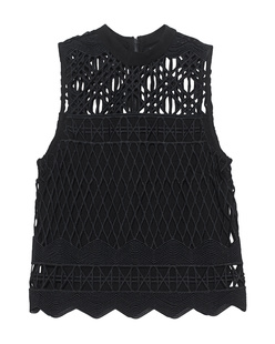 Kendall + Kylie Crochet Black