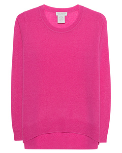 OATS Cashmere Kendra Round Neck Rose