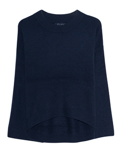 JADICTED Cosy Loose Fit Cashmere Navy