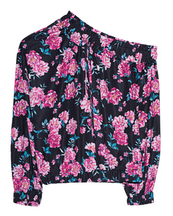 Kendall + Kylie Off-Shoulder Flower Pink
