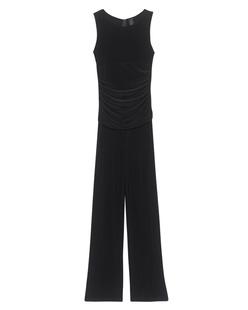 NORMA KAMALI Sleeveless Waist Jumpsuit Black