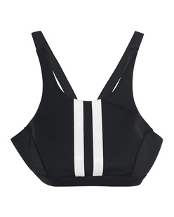 Kendall + Kylie Sports Bra Stripes Black