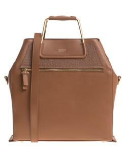 STEFFEN SCHRAUT Chelsea Boxy Bag Cognac