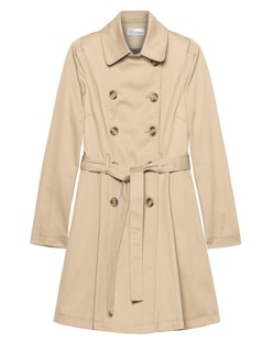 RED VALENTINO Trench Double Row Camel