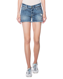 FRAME DENIM Le Cutoff Release Waistband Blue