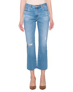 AG Jeans Jodi Crop Destroyed Blue