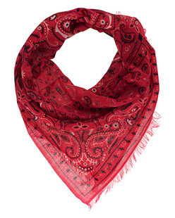 ALBEROTANZA Light Pashmina Small Pattern Red