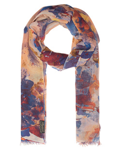 ALBEROTANZA Light Pashmina Flower Blue