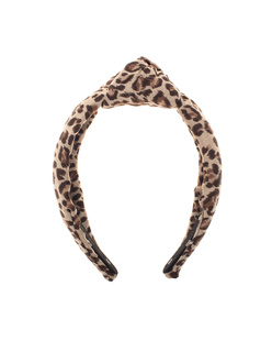 Lele Sadoughi Headband Leo Beige