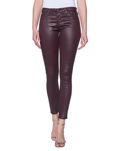 AG Jeans The Legging Leatherrette Deep Currant