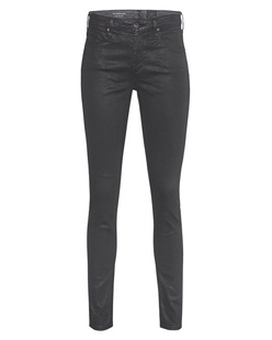 AG Jeans The Legging Ankle Vintage Leatherette Black