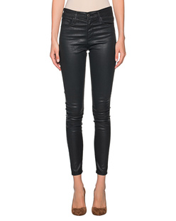 AG Jeans Farrah Skinny Ankle Coated Black