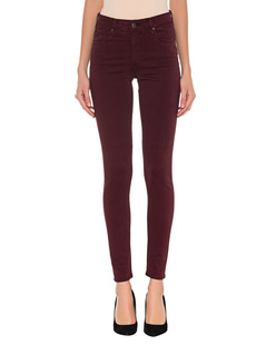 AG Jeans The Farrah Skinny Ankle Bordeaux