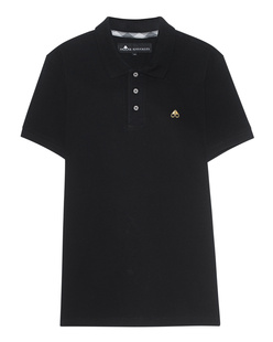 MOOSE KNUCKLES Polo Basic Black