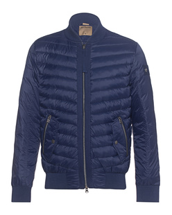 TRUE RELIGION Bomber Jacket Dark Blue