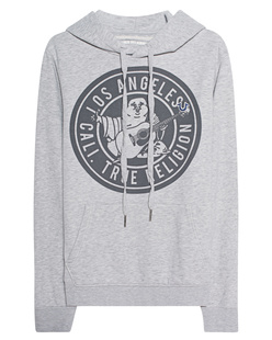 TRUE RELIGION Buddha Hood Grey