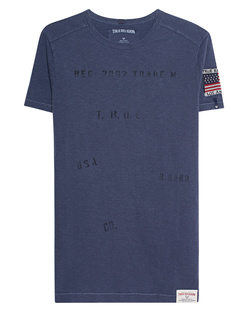 TRUE RELIGION Overdyed Blue
