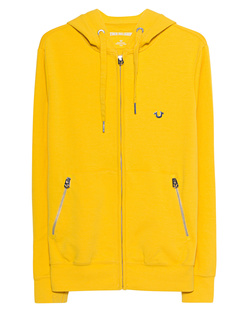 TRUE RELIGION Cotton Zip Yellow