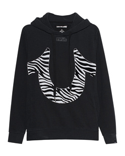 TRUE RELIGION Zebra Label Black