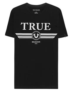 TRUE RELIGION Logo Trucci Black