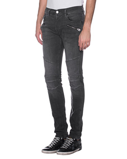 TRUE RELIGION Rocco Biker Black