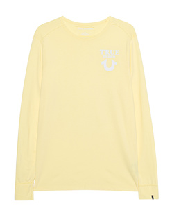 TRUE RELIGION Logo Long Lemon Yellow