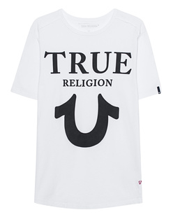 TRUE RELIGION Round Bianco White