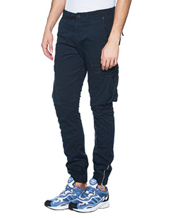 TRUE RELIGION Cargo Crop Navy