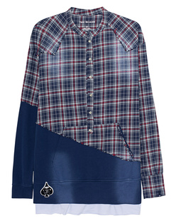 TRUE RELIGION Checked Patchwork Multicolor