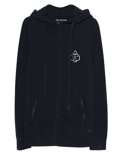 TRUE RELIGION Ace of Spades Zip Black