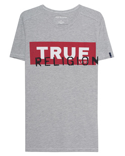 TRUE RELIGION Crew Shirt True Grey