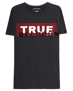 TRUE RELIGION Crew Shirt Anthracite