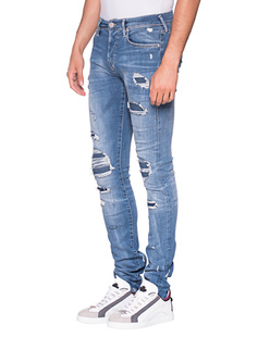 TRUE RELIGION Rocco Relaxed Skinny Blue