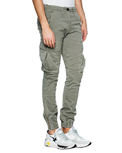 TRUE RELIGION Cargo Zip Olive