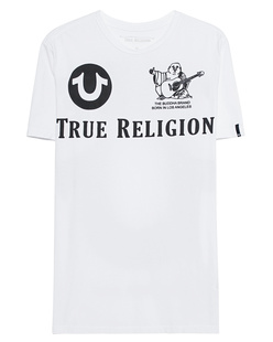 TRUE RELIGION Logo Big White