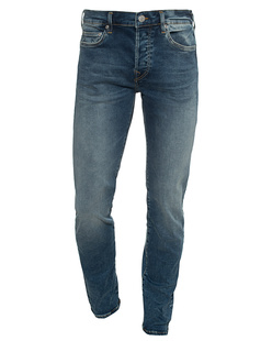 TRUE RELIGION Rocco Trueflex Washed Blue