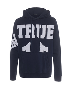 TRUE RELIGION Big True Logo Navy