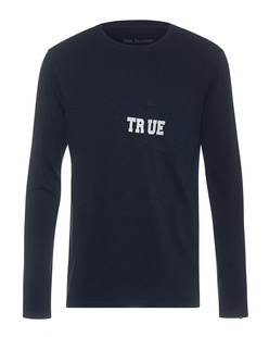 TRUE RELIGION Chest True Logo Navy