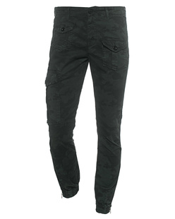 TRUE RELIGION Slim Fit Camo Oliv