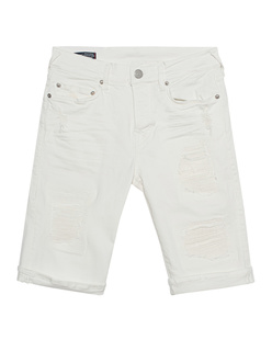 TRUE RELIGION Rocco Destroyed Cream White