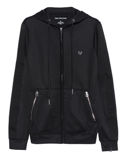TRUE RELIGION Hoodie Zip Black