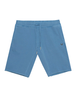 TRUE RELIGION Short Open Hem Lichen Blue
