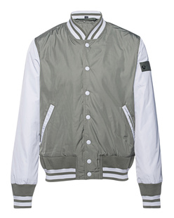 TRUE RELIGION Baseball Jacket Olive